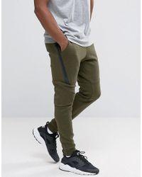 Tech 330 805162 In Men Nike Fleece Skinny Green For Joggers TnAdWwA