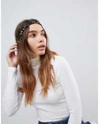 ASOS Multicolor Pack Of 2 Plaited Headbands