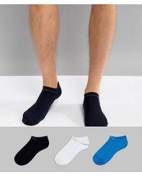 Calvin Klein - Multicolor Performance Trainer Liner In 3 Pack Coolmax for Men - Lyst