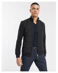 Ted Baker Black Padded Jacket for men