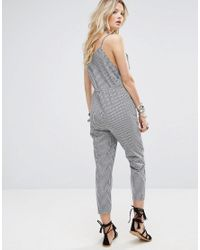 Honey Punch Black Relaxed Cami Jumpsuit