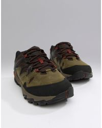 Merrell Green All Out Blaze 2 Hiking Trainers for men
