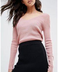 Glamorous - Black Bodycon Skirt - Lyst