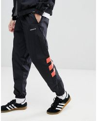 Adidas Originals Vintage Tapered Joggers In Black Cw4989 for men
