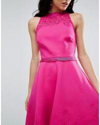 Ted Baker Pink Zaffron Skater Dress