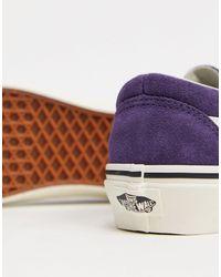 Classic - Baskets rétro Vans en coloris Purple