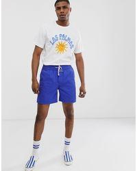 Camiseta blanca Billy Las Palmas Weekday de hombre de color White