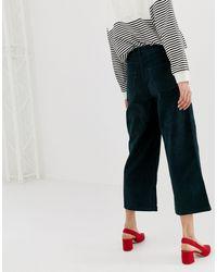 Warehouse Green – Kurz geschnittene Hose