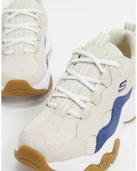 D'lites 3.0 - Baskets - et fauve Skechers pour homme en coloris White