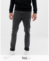Cheap Monday Black Tight Slim Jeans Record for men