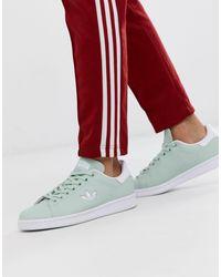 Stan Smith - Sneakers verde menta con logo di Adidas Originals in Green da Uomo