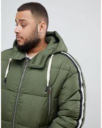 Doudoune - Kaki exclusivité ASOS Sixth June pour homme en coloris Green