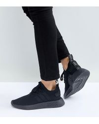 adidas Originals Originals Nmd R2 Trainers In All Black - Lyst