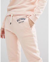 Tommy Hilfiger - Pink Track Pants - Lyst