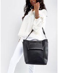 Fiorelli - Black Brunswick Structured Shoulder Bag - Lyst