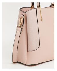 Dorris - Maxi borsa rosa cipria di Dune in Pink