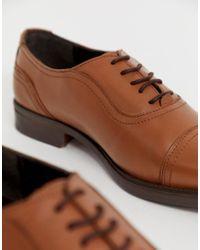 Светло-коричневые Кожаные Оксфордские Туфли Redfoot для него, цвет: Multicolor