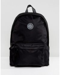 1d43d3fbbe Pretty Green Logo Backpack In Black in Black for Men - Lyst
