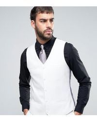 Noak Multicolor Super Skinny Suit Waistcoat for men