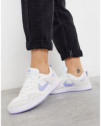 SB - Alleyoop - Baskets - Blanc et bleu Nike en coloris Bleu - Lyst