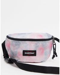 Springer - Marsupio rosa tie-dye di Eastpak in Multicolor