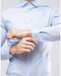 Jack & Jones - Blue Premium Skinny Smart Shirt for Men - Lyst