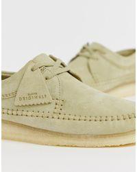 Замшевые Туфли Originals Weaver Clarks для него, цвет: Multicolor