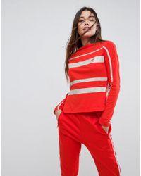 Adidas Red Originals Long Sleeve T-shirt