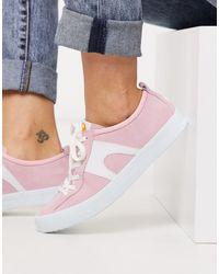 Розовые Замшевые Кроссовки Imar-розовый Цвет Camper, цвет: Pink