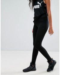 PUMA Classic Leggings With Tonal Black Logo