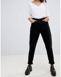 WÅVEN Black Elsa Mom Jeans