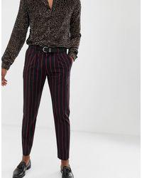 Pantalones capri Heart & Dagger de hombre de color Black