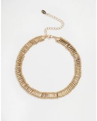 ALDO - Metallic Cheraria Choker Necklace - Lyst