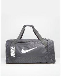 bf56acc2bf Nike Brasilia Large Duffel Bag In Black Ba4828-001 - Black in Black ...