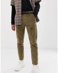 Pantalones ajustados ASOS de hombre de color Green