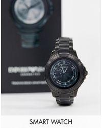 Черные Смарт-часы 43 Мм Art5011 Alberto Emporio Armani для него, цвет: Multicolor