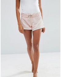 ASOS - Pink Lounge Jersey Short - Lyst