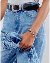 Vanessa Mooney - Metallic Chain Link Bracelet - Lyst