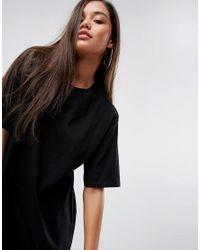 ASOS - Black Super Oversized Boyfriend T-shirt - Lyst
