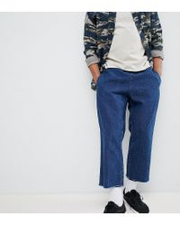 Reclaimed (vintage) Blue Inspired Denim Relaxed Trouser for men