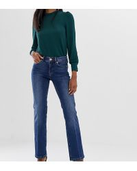 Oasis Blue Kick Flare Jeans
