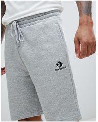 Pantaloncini di Converse in Gray da Uomo