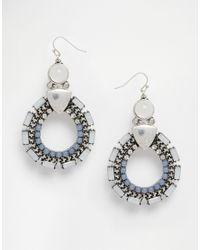 ALDO - Metallic Harger Statement Earrings - Lyst