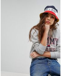 cdfe8ccd5e9 Lyst - Tommy Hilfiger Tommy Jean 90s Capsule Bucket Hat