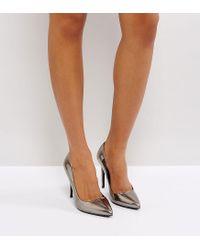 ASOS - Metallic Asos Paris Pointed High Heels - Lyst