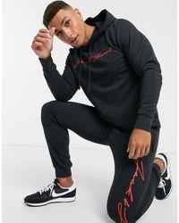Черный Спортивный Костюм С Логотипом-надписью Jack & Jones для него, цвет: Black