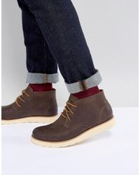 Eastland - Jack Chukka Leather Boots In Brown for Men - Lyst