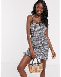 Miss Selfridge Black Beach Dress
