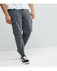 Pantaloni cargo di Another Influence in Gray da Uomo