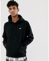 Obey Creeper Backprint Hoodie Exclusive To Asos In Black for men